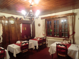 A typical restaurant